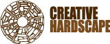 Creative hardscape Logo