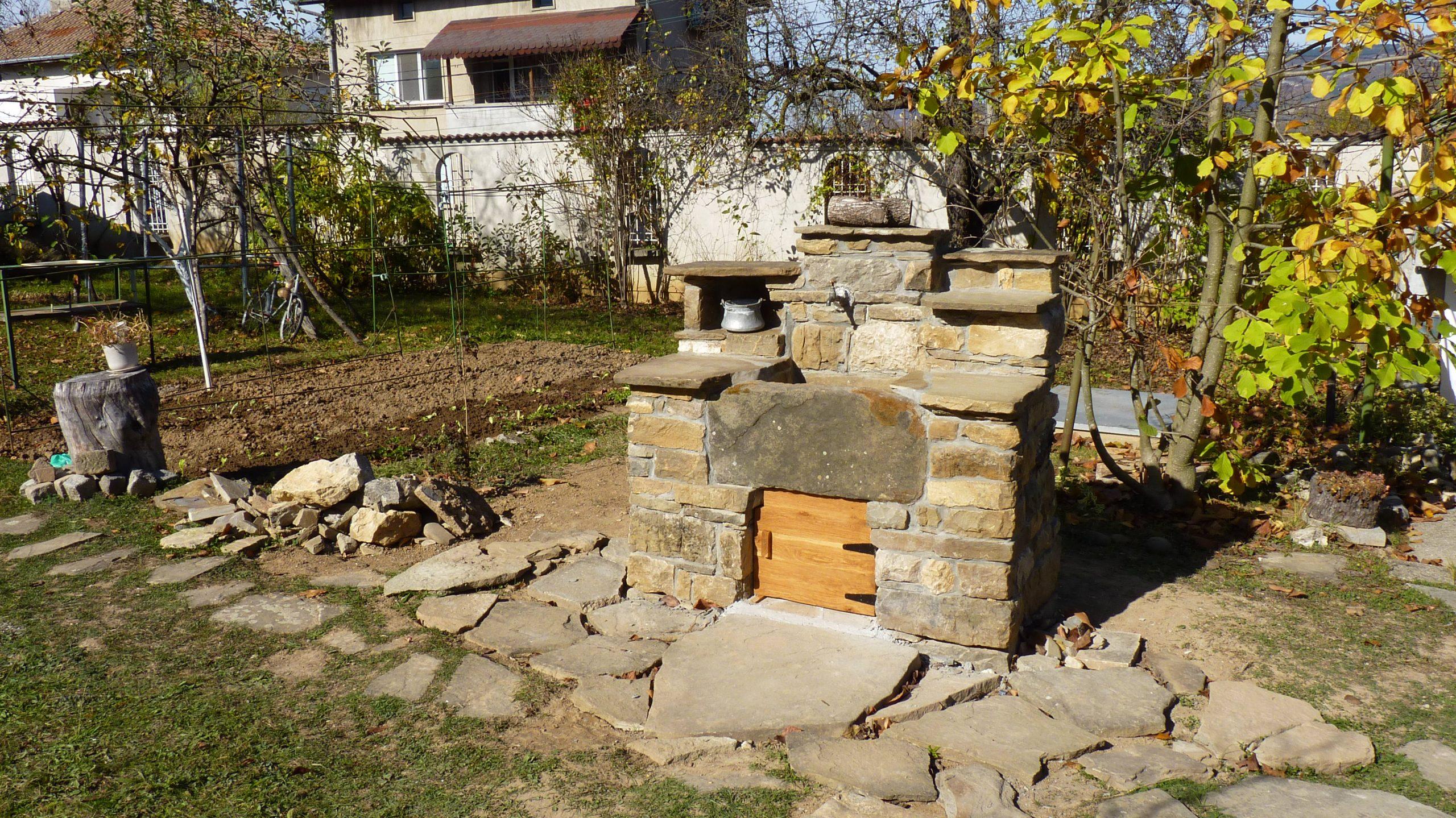 Зидана каменна чешма